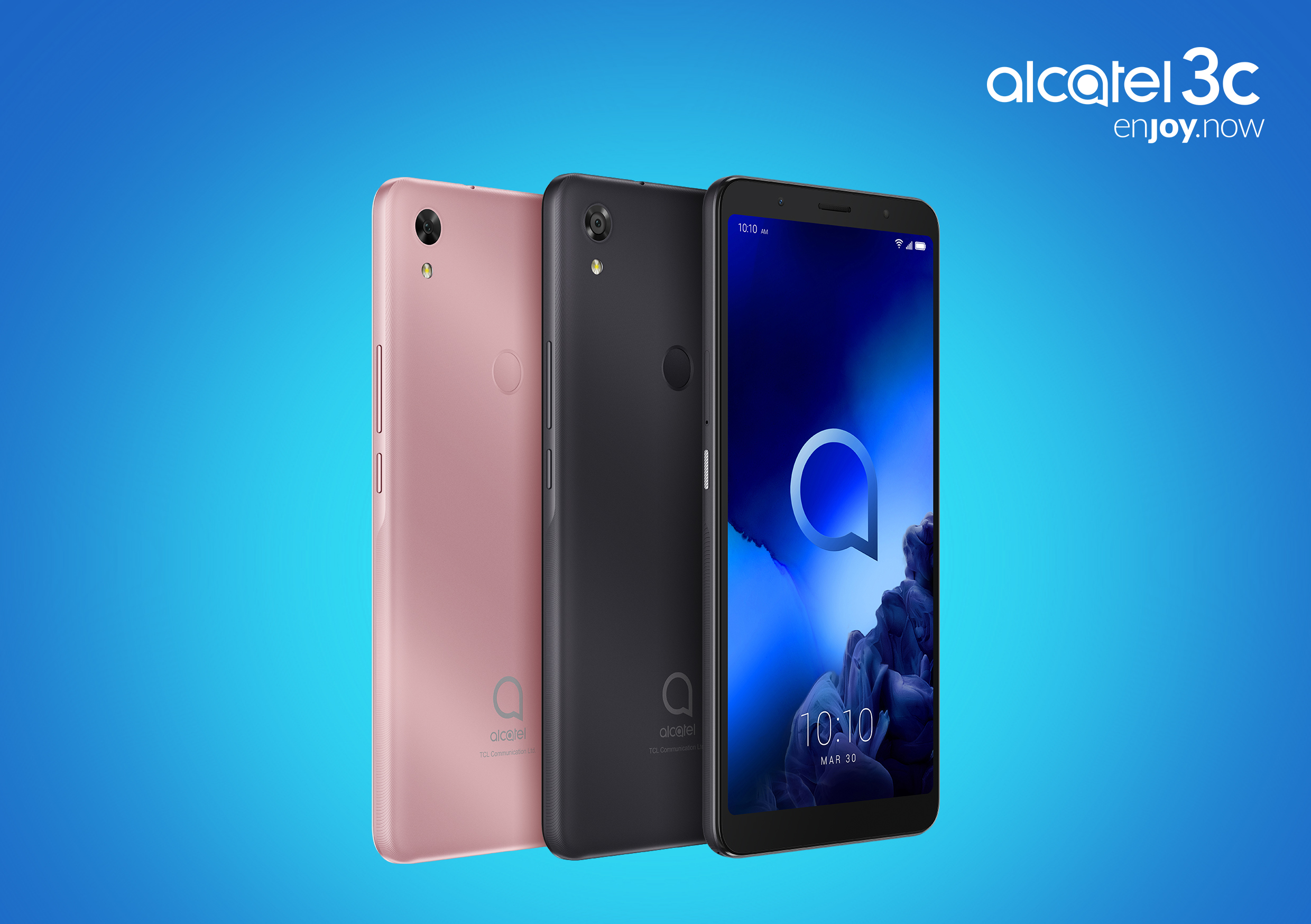 TCL Communication introduces the Alcatel 3C with the dedicated Google Assistant Button and cinematic viewing experience