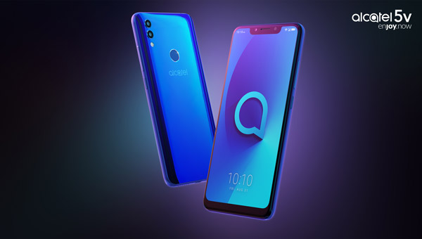 Alcatel 5V fuses a FullView 19:9 display, an AI-powered pro-level camera and flagship design into a premium device at an affordable price