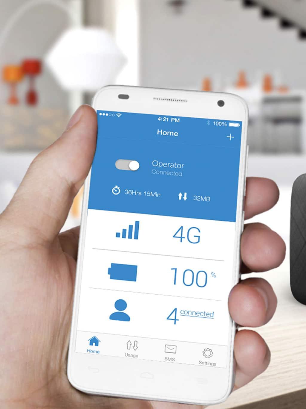 LINKZONE 4G LTE Cat4 Mobile Wi-Fi - Alcatel
